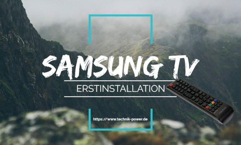 Samsung TV 2020 Erstinstallation