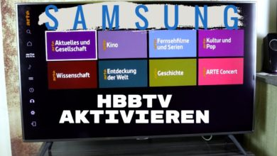 Bild von Samsung TV – HbbTV aktivieren