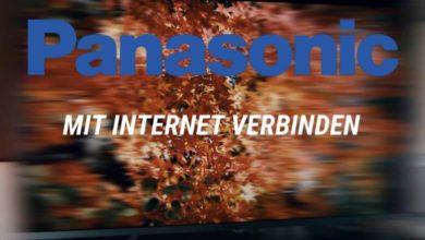 Bild von Panasonic Fernseher mit Internet verbinden