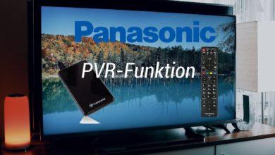 Bild von Panasonic PVR – Aufnahme Tutorial