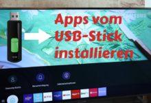 Bild von Samsung TV – Apps vom USB-Stick installieren