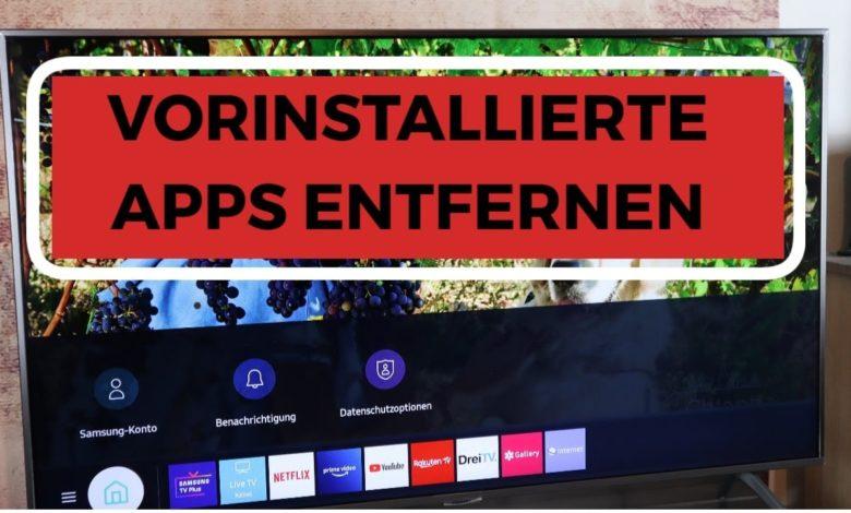 Samsung Vorinstallierte Apps entfernen amp Entwicklermodus Starten