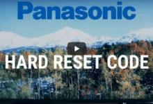 Bild von Hard Reset Panasonic 2020