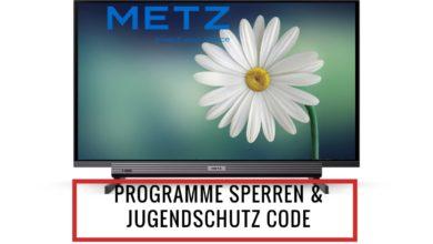 Bild von Sender sperren und Jugendschutz Code Metz