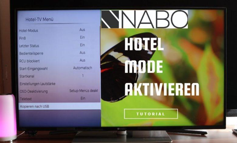 1616445448 Nabo Serie 7500 Hotel Mode aktivieren