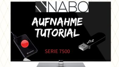 Bild von Nabo Serie 7500 Aufnahme Tutorial