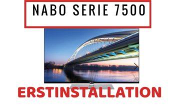 Bild von Nabo Serie 7500 Erstinstallation