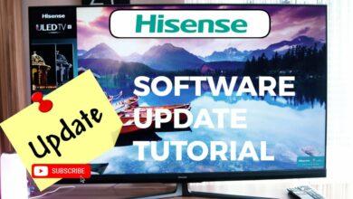 Bild von Hisense Software Update Tutorial