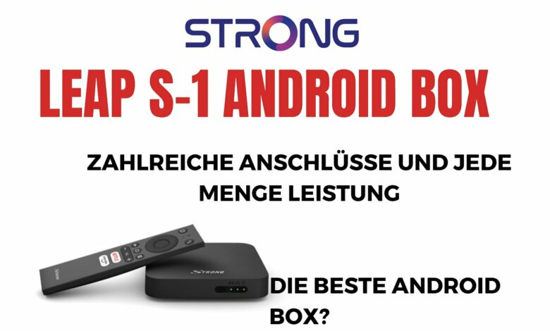 Strong Android Box Leap S1 die beste Android Box