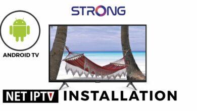 Bild von NET IP TV Strong Android TV