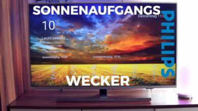 Bild von Philips TV Sonnenaufgangs Wecker