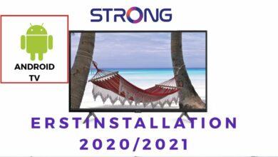 Bild von STRONG Android TV Erstinstallation 2020/2021