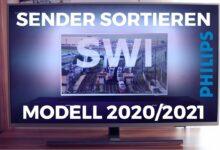 Bild von Sender sortieren Philips TV 2020/2021