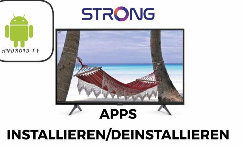 Strong Android TV Apps installieren amp deinstallieren