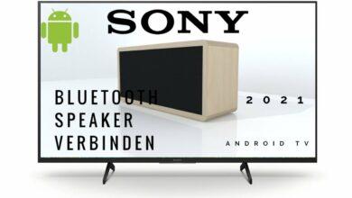 Bild von Sony Android TV mit Bluetooth Lautsprecher verbinden