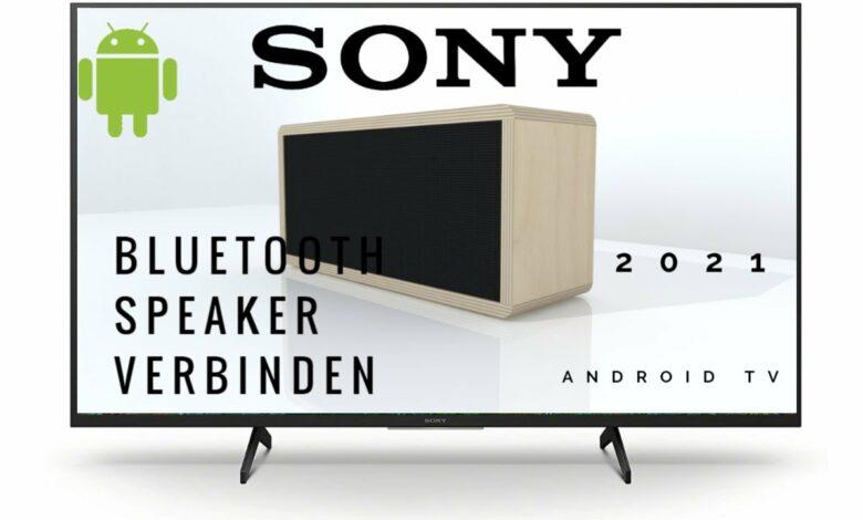 Sony Android TV mit Bluetooth Lautsprecher verbinden