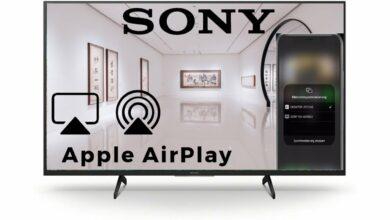 Bild von Apple AirPlay Sony Android TV 2021