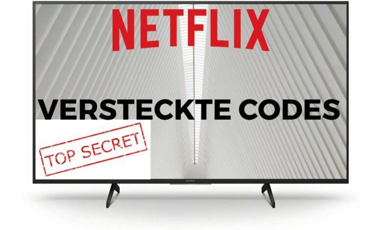 Netflix versteckte Codes