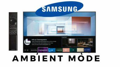 Bild von Samsung Ambient Mode