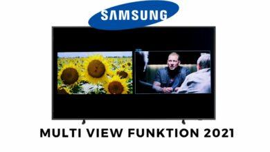 Bild von Samsung Multi View Funktion 2021