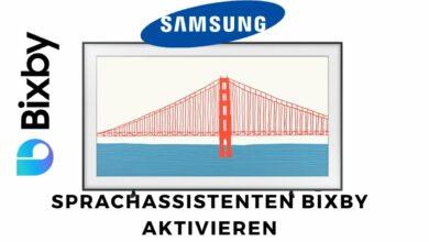 Bild von Samsung TV Sprachassistenten Bixby aktivieren
