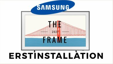 Bild von Samsung The Frame 2021 Erstinstallation