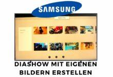 Bild von Samsung The Frame Diashow erstellen mit eigenen Bildern