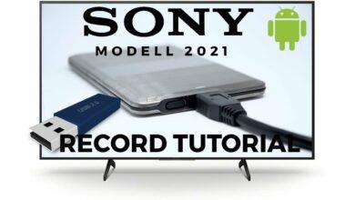 Bild von Sony Aufnahme Tutorial Android TV 2021